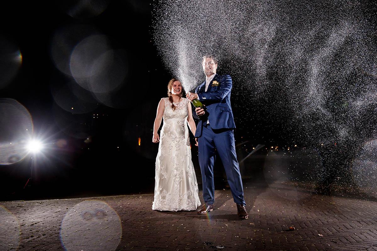 Stoere bruidsfotografie in Rotterdam