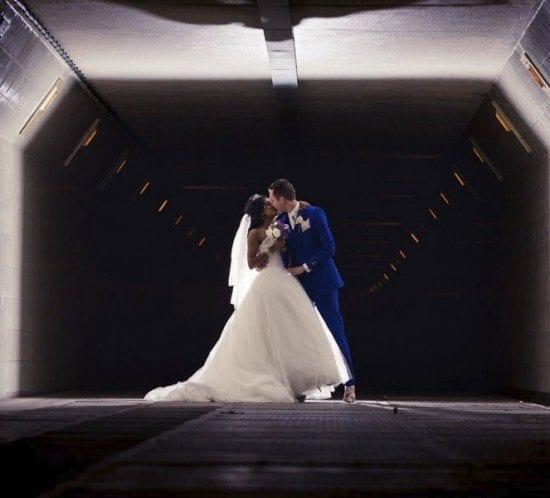 Bruidsfotograaf Rotterdam Maastunnel