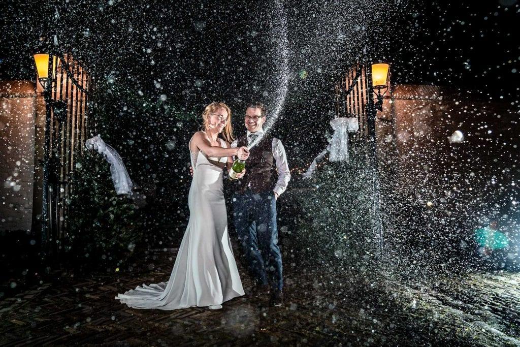 Champagnefoto Trouwen met Thomas op bruiloft