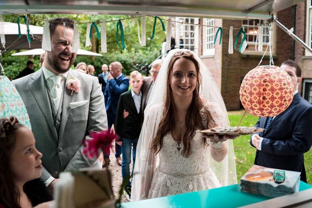 Pannenkoeken foodtruck op je bruiloft