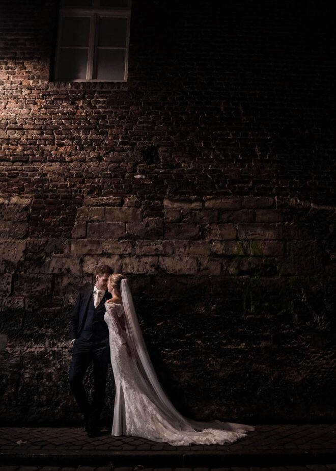 Romantisch bruidspaar
