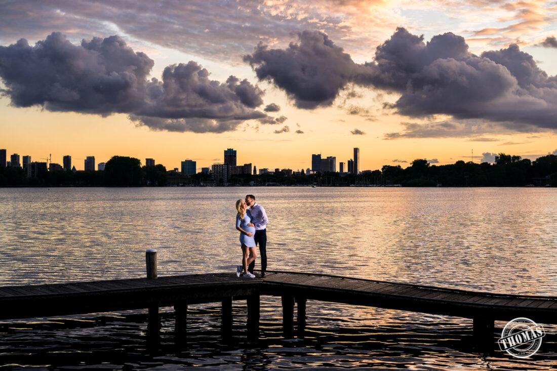 Foto zwangershoot Rotterdam