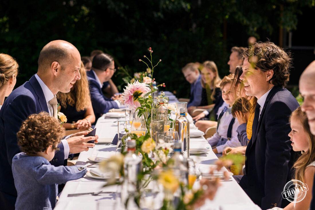 Mooie momenten tijdens Corona diner