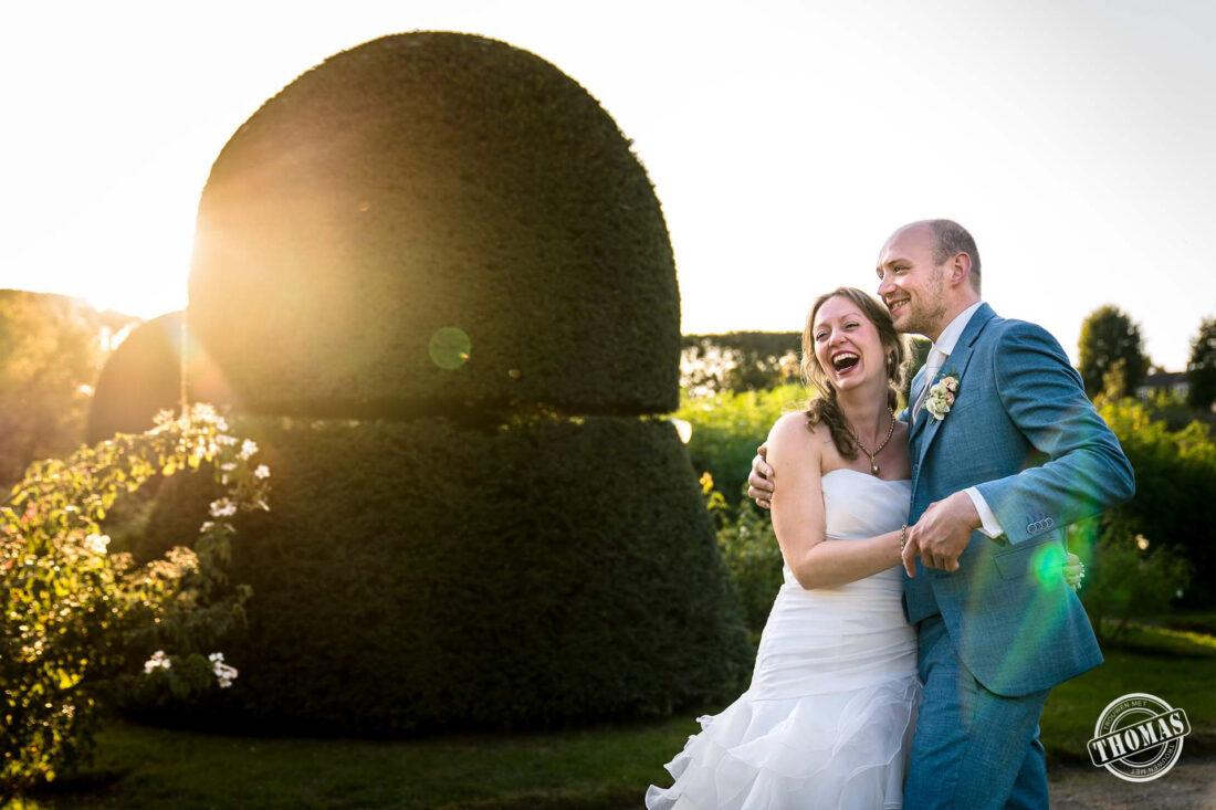 Ontspannen trouwfoto's die ongedwongen zijn