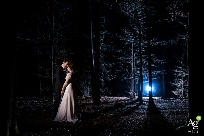 Award winning trouwfoto in het bos